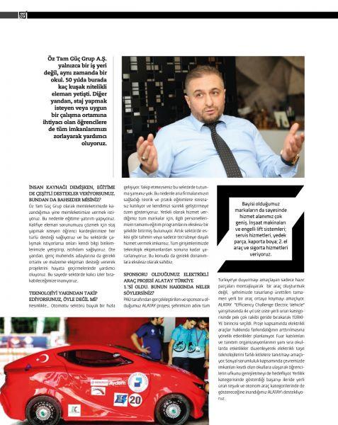 Denizli Ekonomi Dergisi Söyleşi-2