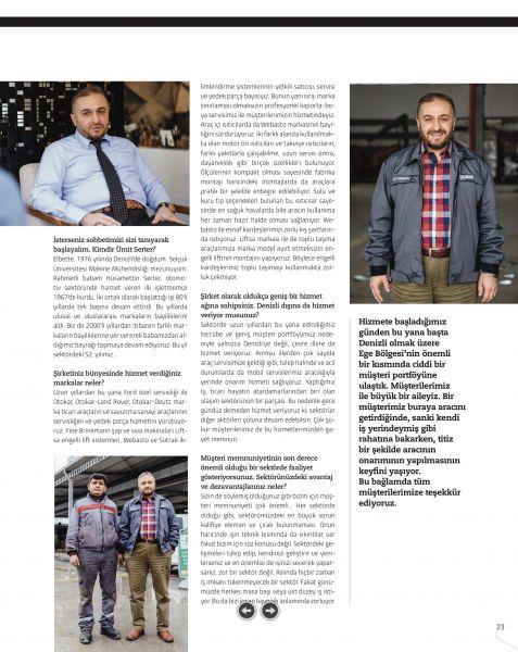Denizli Ekonomi Dergisi Söyleşi-3